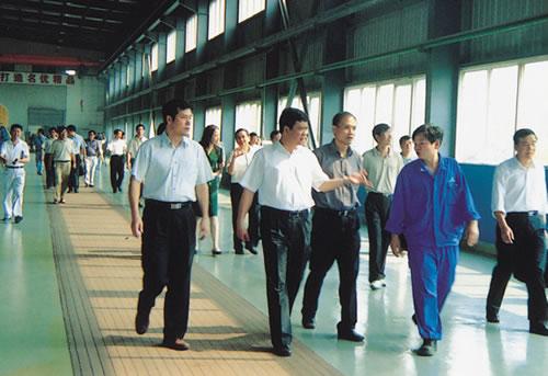 武汉市委常委、副市长岳勇到公司调研